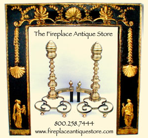 Fireplace Antique Store